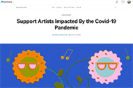 Dance music's positive response to COVID19